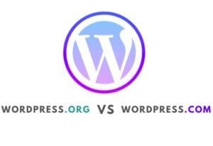 Wordpress .org  vs WordPress.com