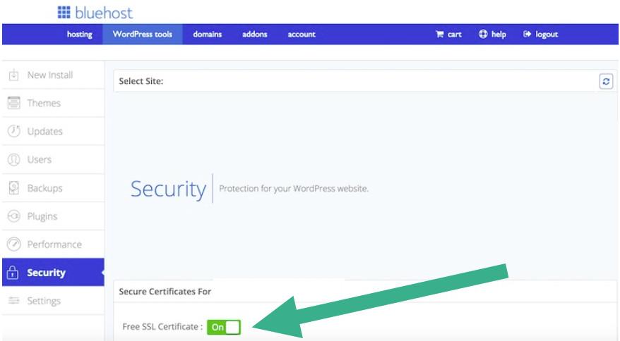 Bluehost SSL