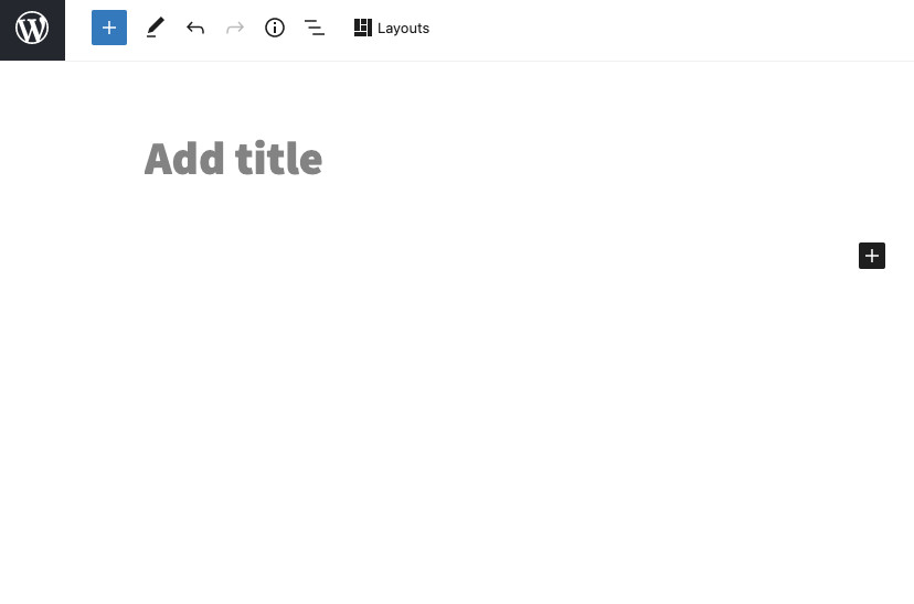 Add title to WordPress