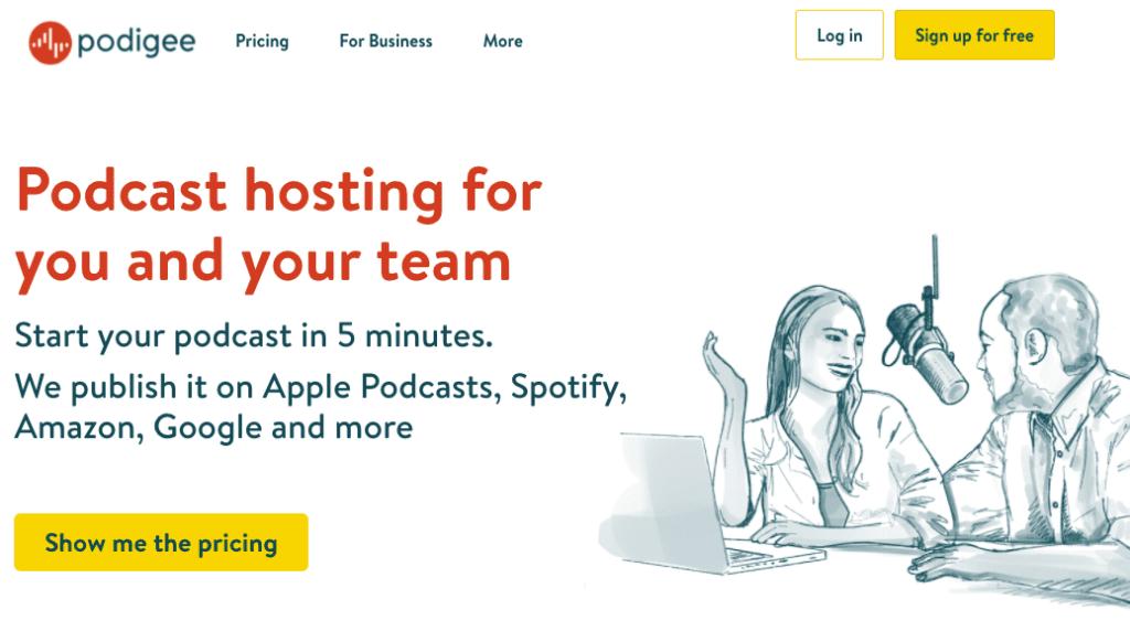 Podigee podcast hosting